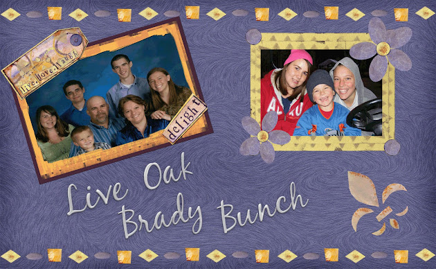 Live Oak Brady Bunch