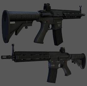 HK416 Assault Rifle by Hawk17015 600x589+senjata+sangat+mematikan