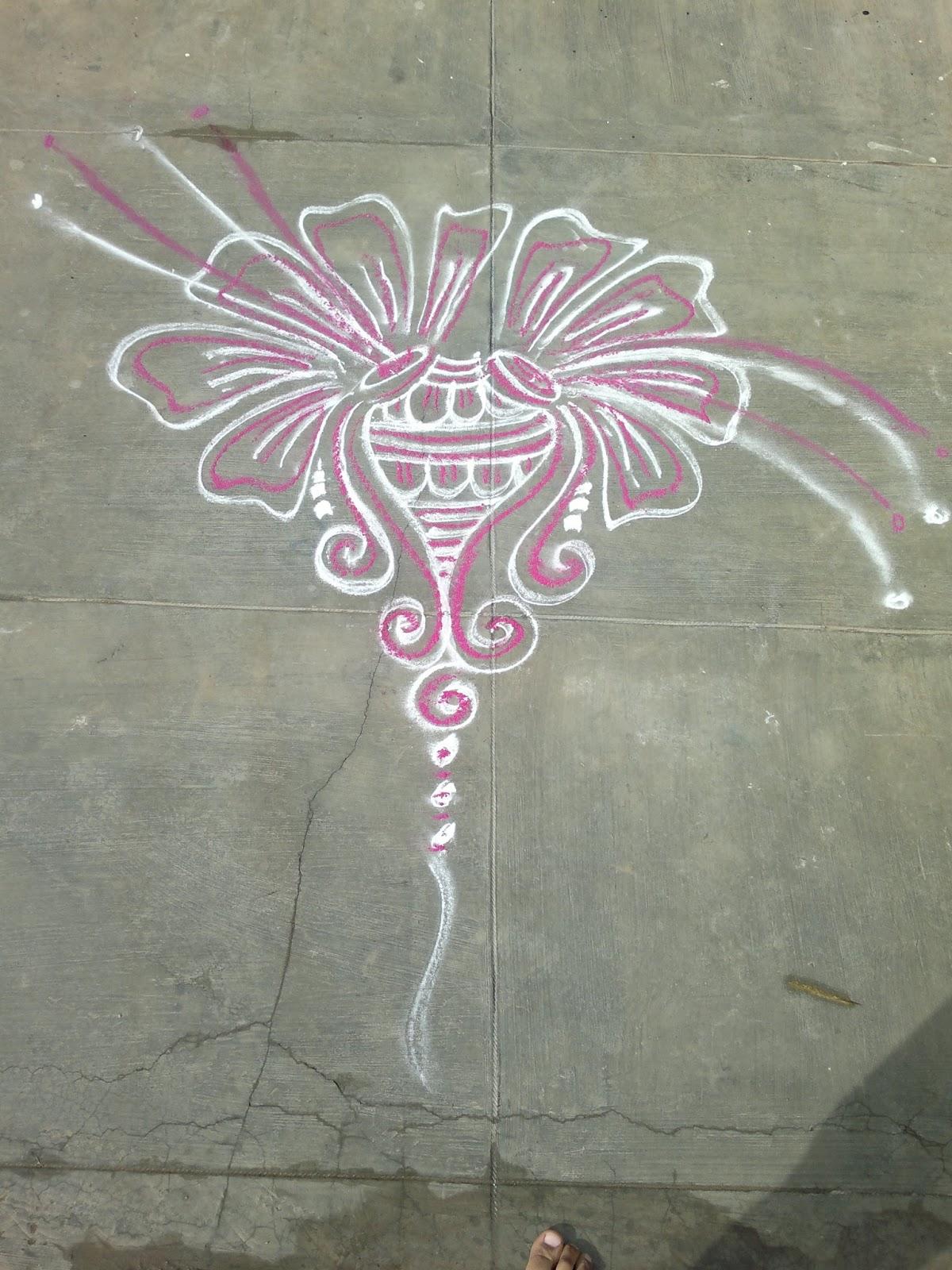Rangolis: Free Style Rangoli