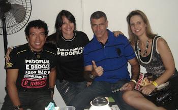 Senador Magno Malta, Marta Lança,Dr. Rogério Greco e Fernanda Greco - POP GOSPEL BRASIL