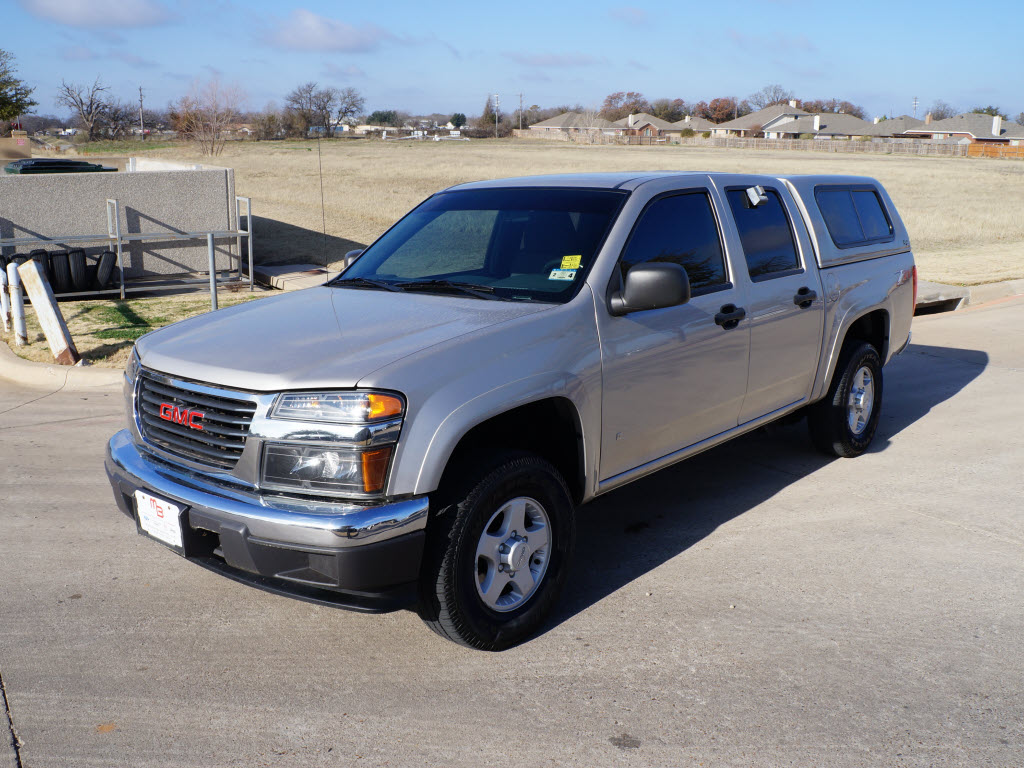 tdy sales texas car deal 14 991 for sale 2006 gmc canyon z71 4x4. Black Bedroom Furniture Sets. Home Design Ideas