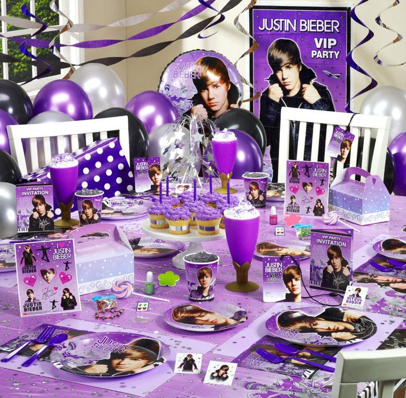 Decoración De Fiestas de Justin Bieber | Fiestas Infantiles Decoracion