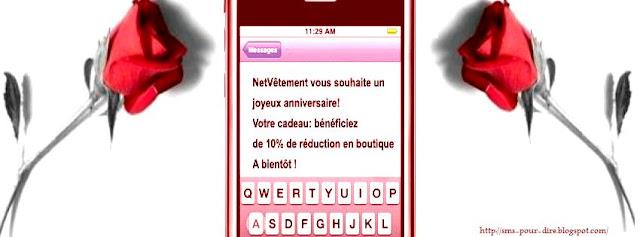 sms d anniversaire pour amie