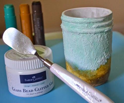 Faber-Castell Design Memory Craft: Beachy Glass Bead Glitter Gel Glass ...