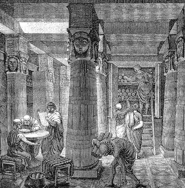 Antigua Biblioteca de Alejandría