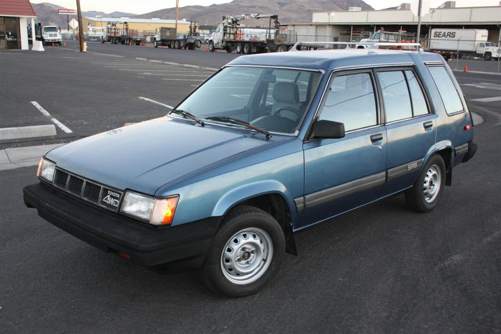 Just A Car Geek: 1987 Toyota Tercel SR5 4WD