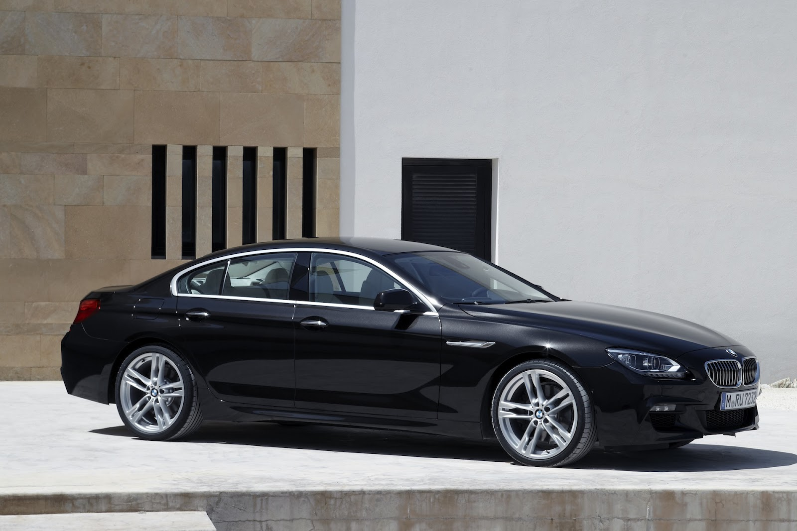 2012 bmw 6 series 650i coupe black sapphire metallic color black - Production 2013 Bmw 650i Gran Coupe Gallery