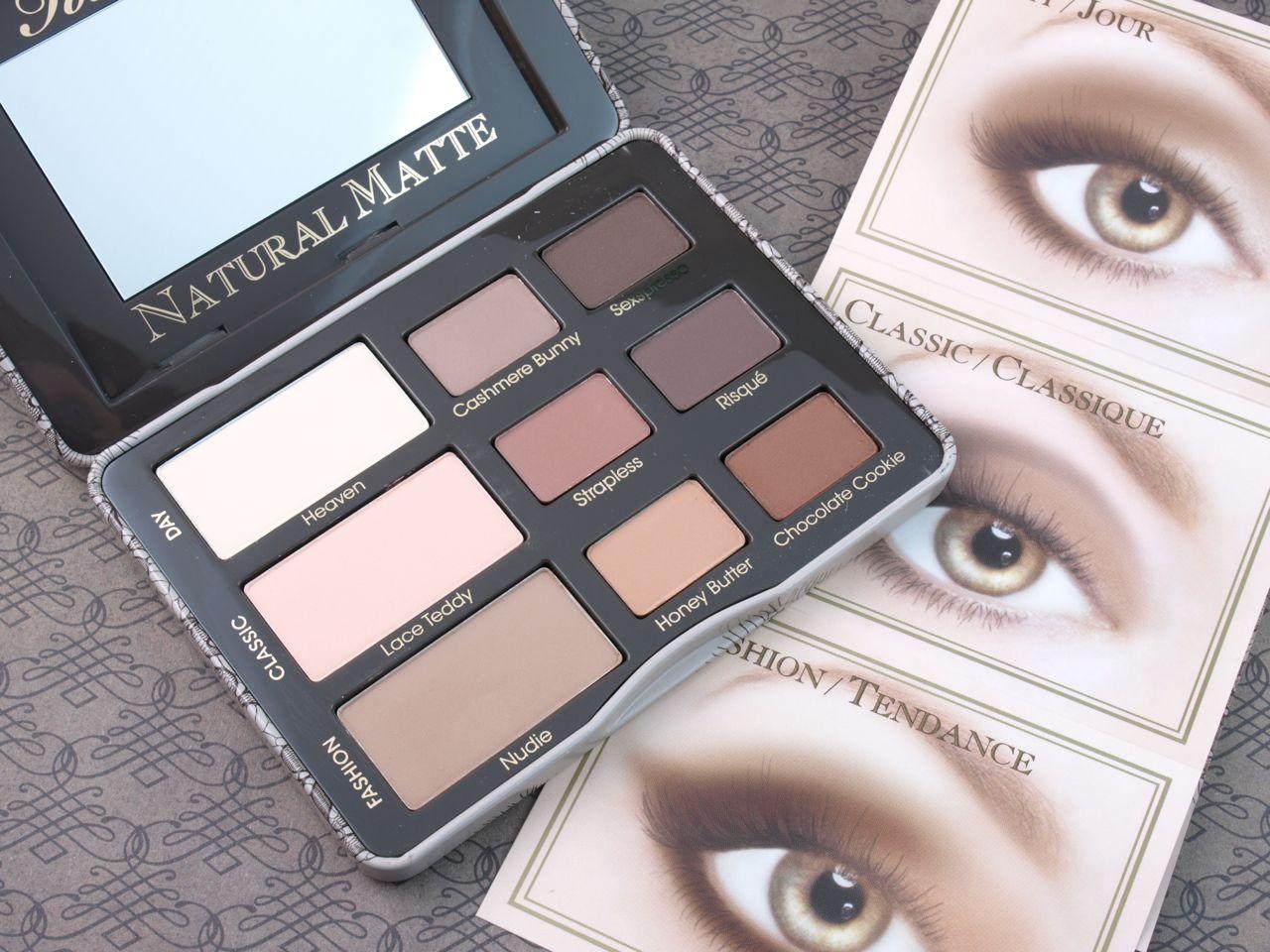 Too Faced Natural Eyes Vs Natural Matte