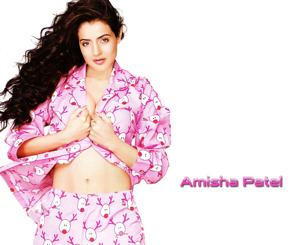 Amisha Patel Hot Wallpapers