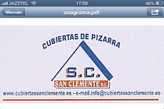 PIZARRAS SAN CLEMENTE