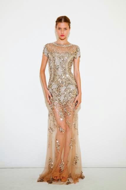 modelo de vestido longo com pedrarias - dicas e fotos
