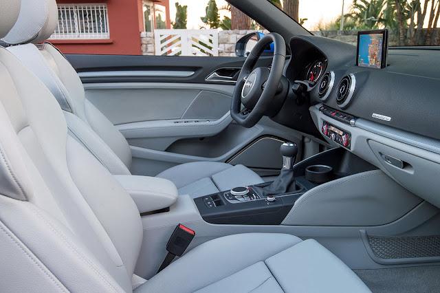 Audi A3 Cabriolet dash
