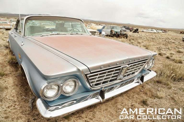Daily timewaster a field of mopars goes on sale in oregon for 1963 chrysler new yorker salon