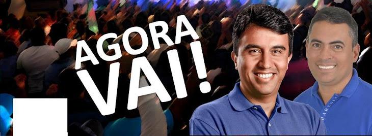 ADRIANO E BERG:Valeu Serrinha,vamos todos rumo ao progresso da nossa cidade!