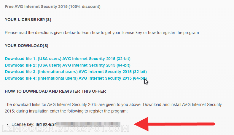 Dapatkan AVG Internet Security 2015 Full Version Gratis dan Legal