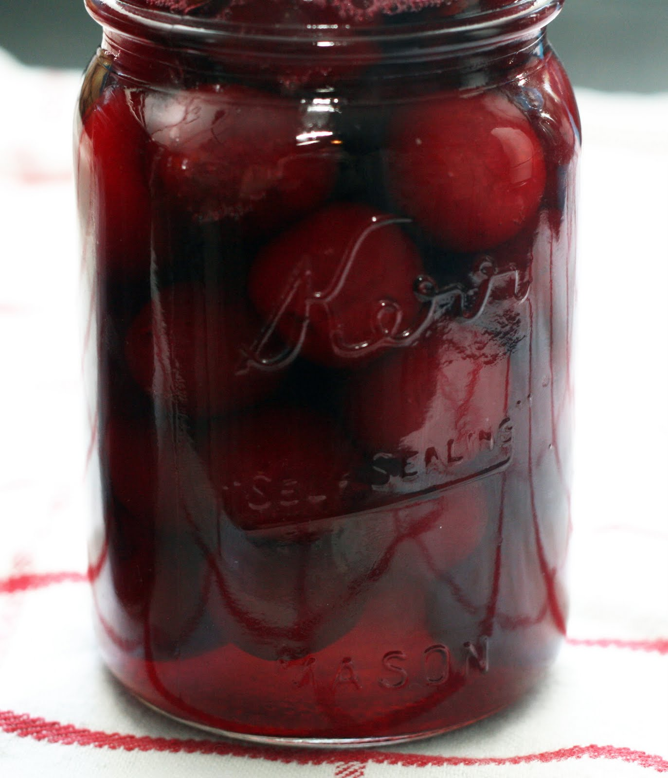 Pickled Sour Cherries Recipe — Dishmaps