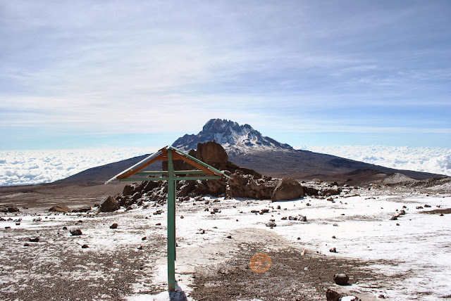 Kibo Hut, Mount Kilimanjaroa