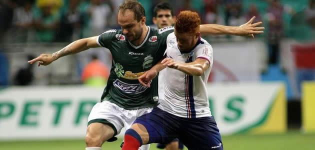 Veja o gol do Bahia