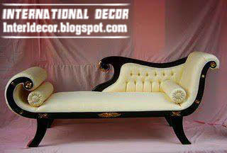 Luxury sofa designs, colors, models for bedroom