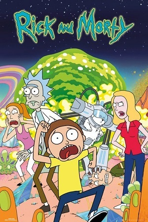 Rick and Morty - Todas as Temporadas Desenhos Torrent Download capa