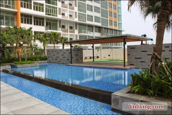 The Vista 3 Bedrooms apartment for rent 140 sqm fully furnished