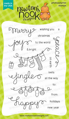 Holiday Wishes Photopolymer Stamp Set by Newton's Nook Designs