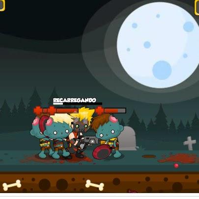 Shotgun VS Zombies flash game