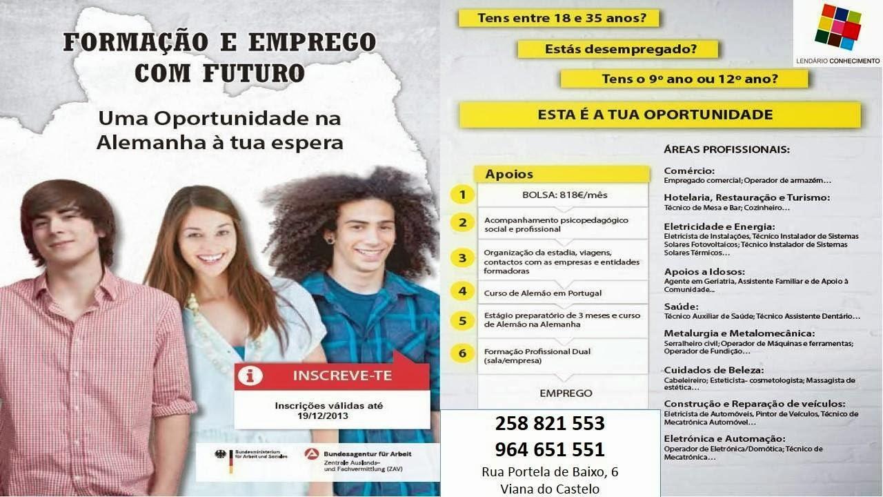 Cursos remunerados para desempregados com o 9º ou 12º ano – Viana do Castelo