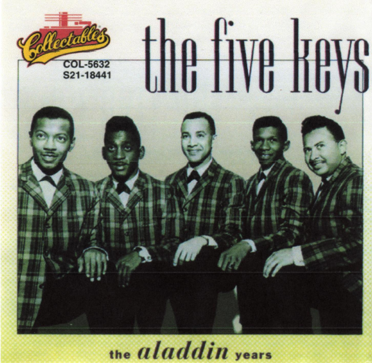 the five keys The five keys was an american rhythm and blues vocal group that was instrumental in shaping this genre in the 1950s it was formed with the original name of sentimental four in.