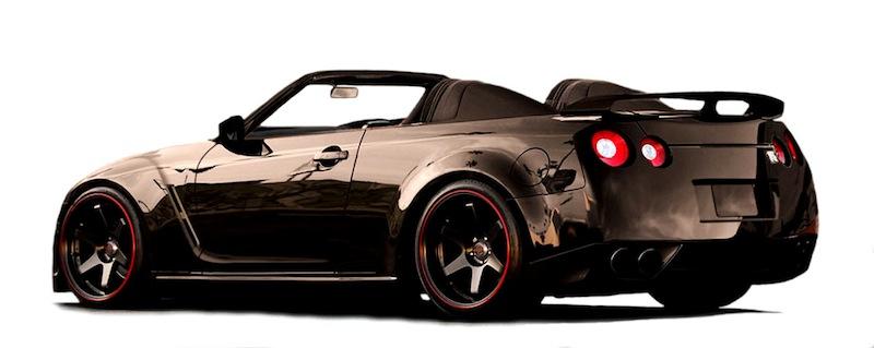 日産GT-Rのオープンカー仕様のイメージを米国のカスタムブランドが公開