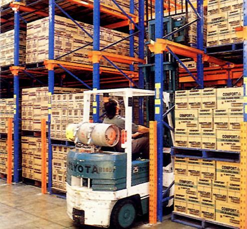 Method Of Arranging Pallets In The Warehouse Warehouse