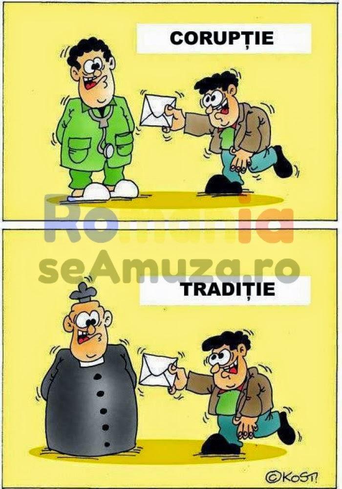 Traditia e la fel de rea precum coruptia / Caricaturi