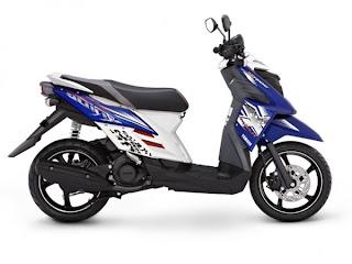 Spesifikasi Lengkap Yamaha X-Ride