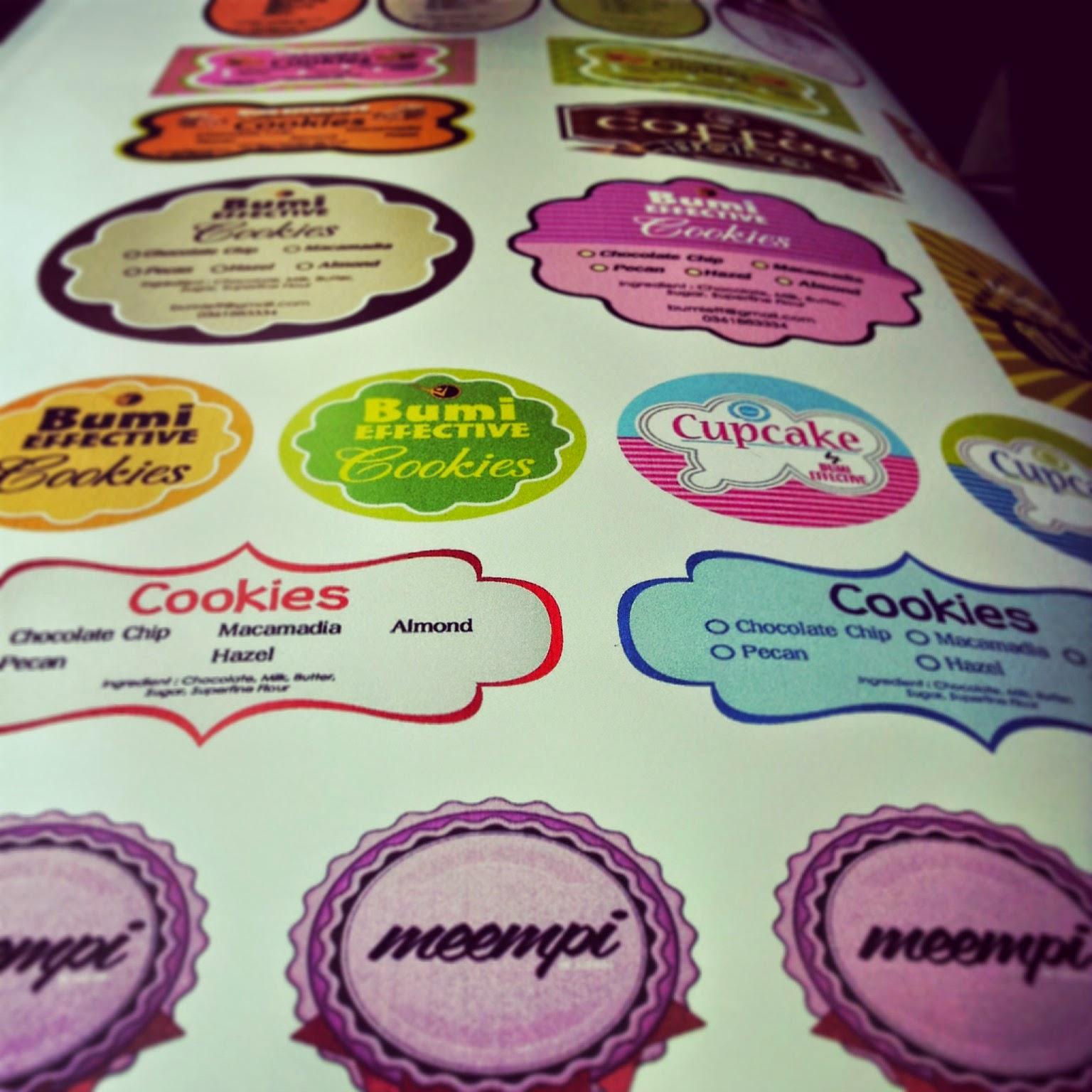 Sticker Meteran Barometer Digital Apparel Dan Stiker Vinil Kualitas Bagus Produk Kreatif Berbasis Printing