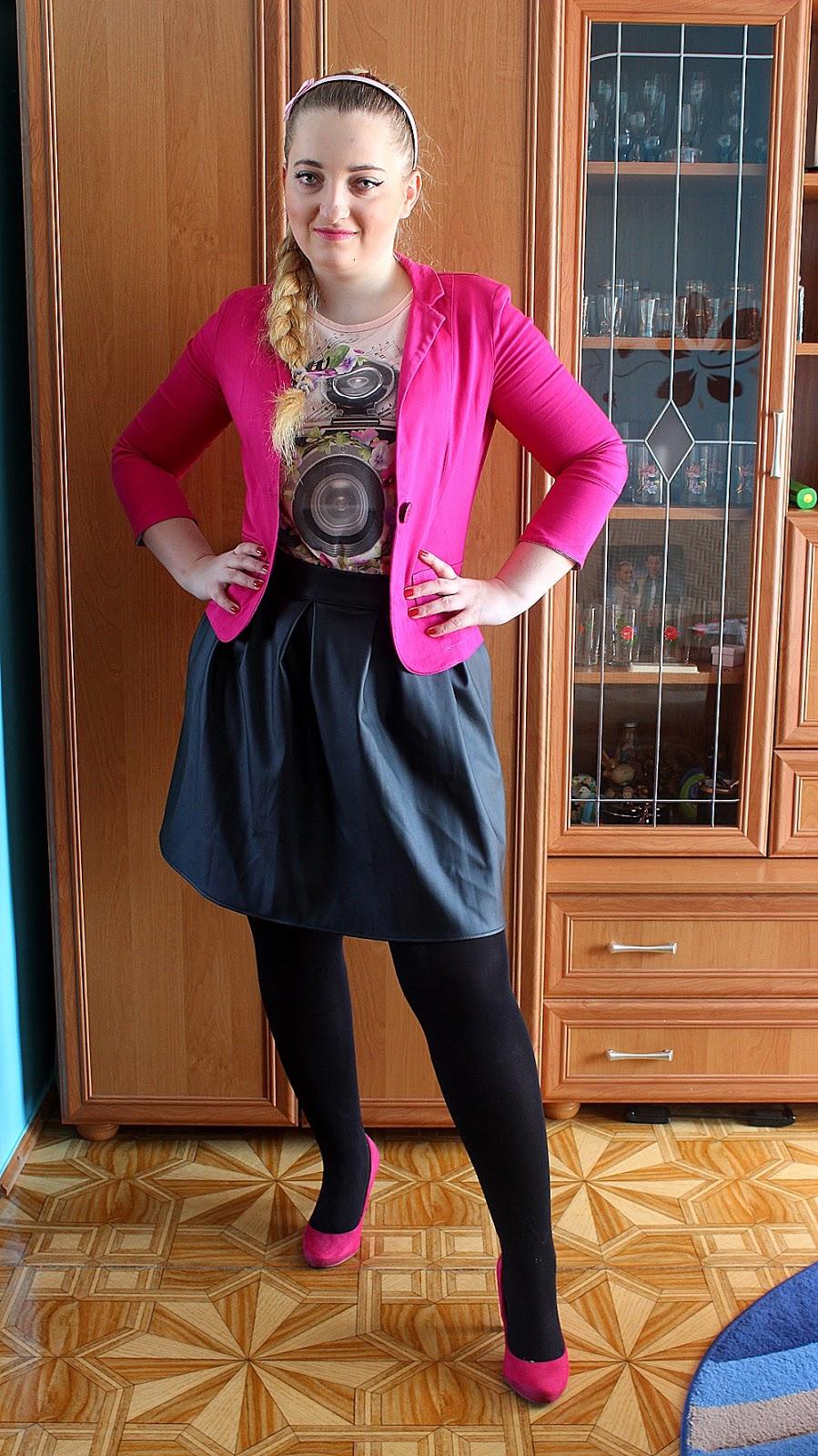 Pierwszy OOTD, czyli dlaczego nie zostałam modelką :)