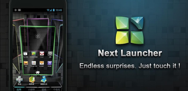 Next Launcher 3D v1.15 APK