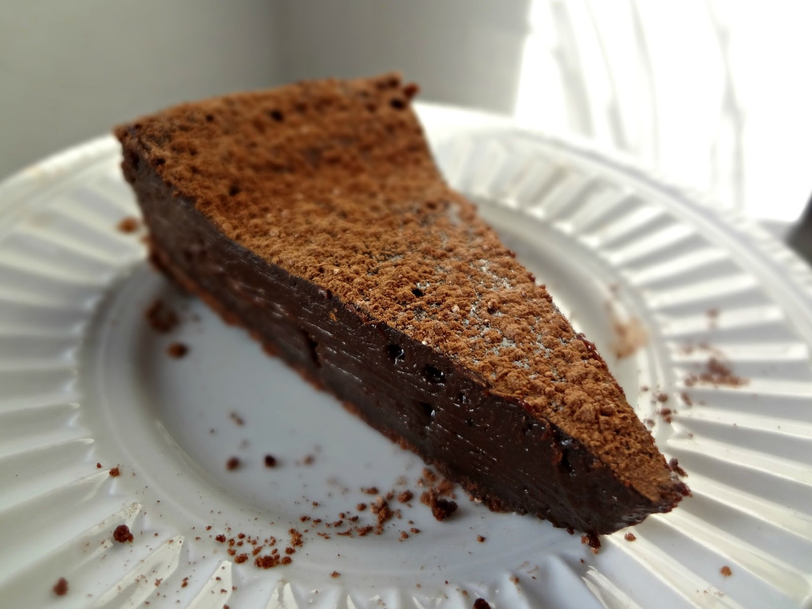 The Cooking Actress: Chocolate Truffle Tart
