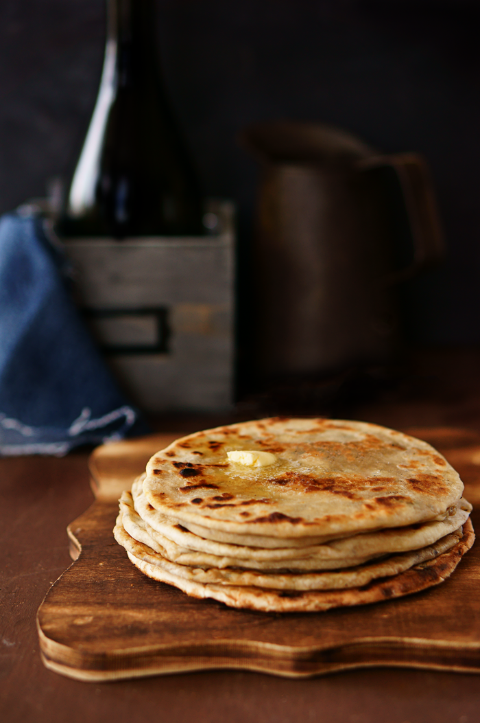 #IndianFlatBread, #FlatBread, #Kulcha, #Recipe #SimiJoisPhotography