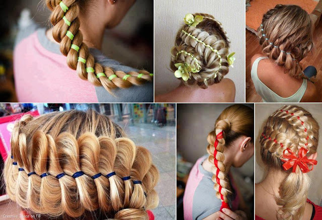 Pony tail hair ideas