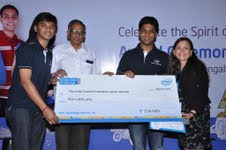 Next Generation of Innovators honoured at the Intel India Embedded Challenge 2012
