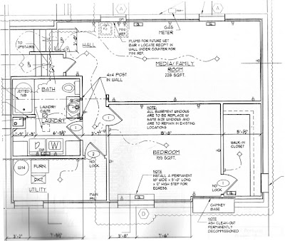 blueprint of a home interior