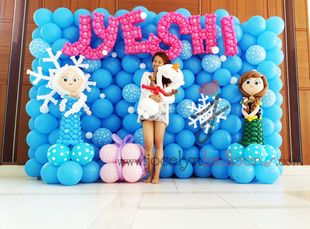 jocelyn ng professional balloon artist blog balloon sculpting singapore balloon backdrop with. Black Bedroom Furniture Sets. Home Design Ideas