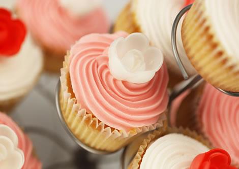 cupcakes roses
