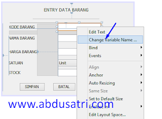 program simpan edit hapus di netbeans