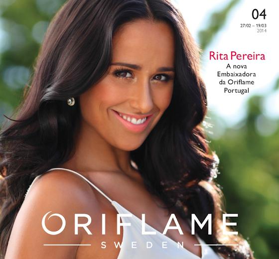 Oriflame - Catálogo 04 de 2014 apresentado por Rita Pereira