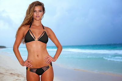 Nina Agdal show hot body for Sauvage sexy Bikini