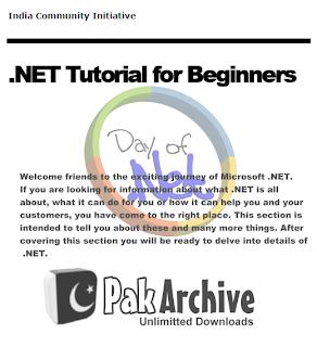 .NET Tutorial for Beginners PDF | Unlimited DownloadsCS Adventure
