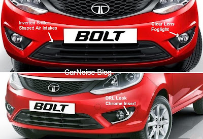 Tata Bolt Front Bumper Foglight Review