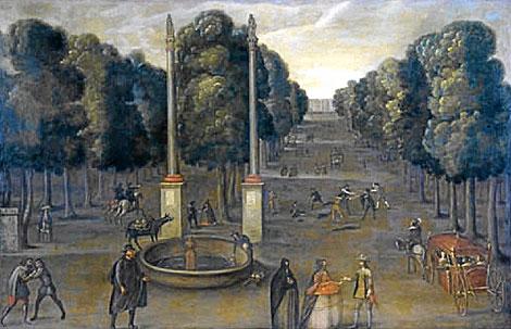 Ratazzi la princesa de la alameda sevillanadas sevilla en estampas - Jardines de hercules sevilla ...