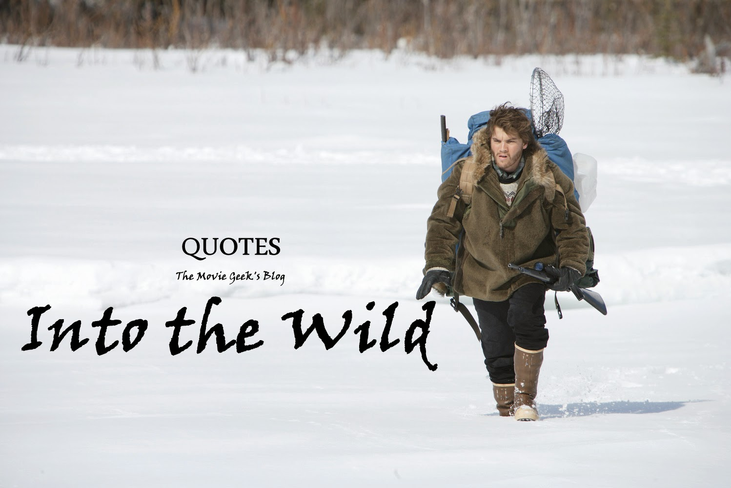 "Into The Wild Quotes 7 ""into The Wild"" Quotes I Love  Tishak Movie"